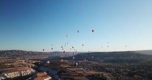 Ballons Turkije stock videobeelden