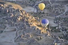 Ballons in Turkije Royalty-vrije Stock Foto