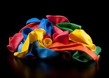 Ballons vides Photographie stock libre de droits