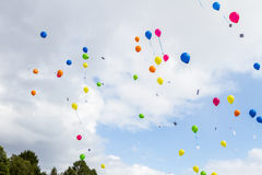 Ballons. Wedding color summer Denmark Stock Image
