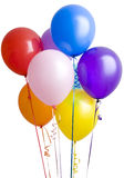 ballons white zgrupowane Fotografia Royalty Free