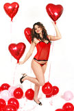 ballons zabawa Zdjęcie Royalty Free