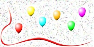 ballonsfärger Royaltyfri Foto