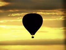 Ballonsonnenaufgang Lizenzfreies Stockbild