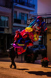 Ballonverkoper Stock Afbeelding