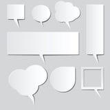 Ballonwörter Lizenzfreie Stockfotografie