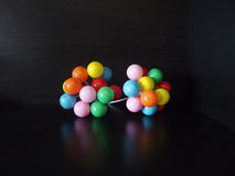 Ballooms pequenos da cor Imagens de Stock Royalty Free