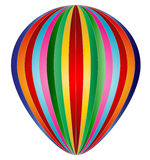 Balloon. Multicolor Balloon   in white background Royalty Free Stock Photography