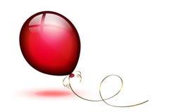 Balloon. Isolated on white background Royalty Free Stock Image
