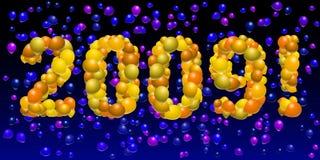 Balloon 2009 Stock Photo