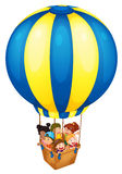 Balloon. Illustration of a hot air balloon Royalty Free Stock Image