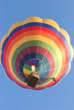 Balloon. Hot air baloon after take-off in the early morning Royalty Free Stock Photography