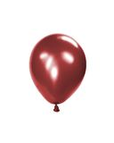 Balloon. Red inflated balloon, isolated on white background Stock Photo