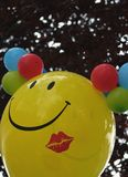Balloon. One with smile Stock Photos