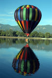 It is Balloon!. Colorful hot air balloon colorado springs colorado Stock Images
