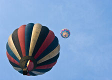 Balloon. A shot made during the 225th anniversary of the first balloon fly in Italy Royalty Free Stock Photography