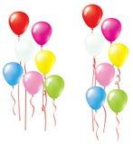 Balloon. Set Of Vector Colorful Balloons. Balloon Collection Stock Photos