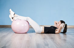 Balloon abs Royalty Free Stock Images