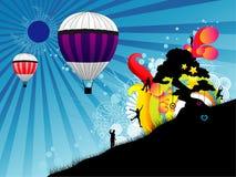Balloon abstract Royalty Free Stock Photo