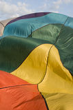 Balloon Abstract. Abstract of a hot air balloon inflating- fabric billowing Stock Photography