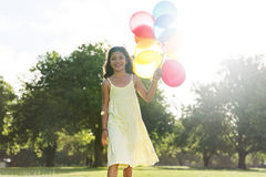 Balloon Activity Playing Recreation Funny Child Concept Royalty Free Stock Photos