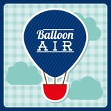 Balloon air  design Stock Image