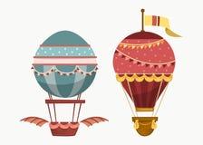 Balloon air travel flying transport Stock Photo