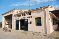 Balloon airport, Majorca stock photos
