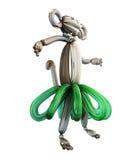 Balloon animal monkey isolated on white background Royalty Free Stock Photography