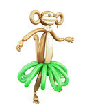 Balloon animal monkey Royalty Free Stock Photography