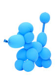 Balloon animal poodle Stock Photography