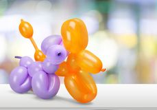 Balloon animals royalty free stock photos
