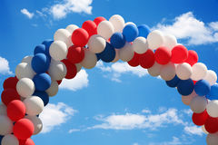 Balloon arch Royalty Free Stock Photography