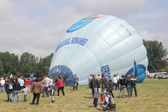Balloon at aviatic show Royalty Free Stock Images