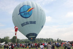Balloon at aviatic show Stock Photos