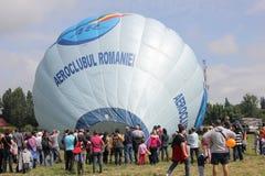 Balloon at aviatic show Stock Photos
