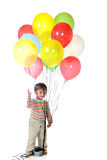 Balloon Baby Stock Photo