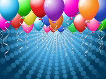 Balloon Background Stock Photography