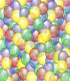 Balloon background Royalty Free Stock Image