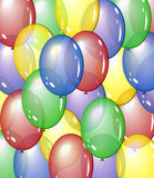 Balloon background Royalty Free Stock Photos