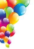 Balloon background Stock Image