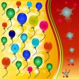 Balloon background. Royalty Free Stock Photos