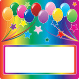 Balloon Background 5 Royalty Free Stock Photography