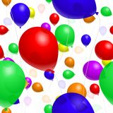 Balloon Background Royalty Free Stock Photography