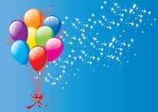 Balloon background Royalty Free Stock Photo