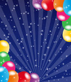 Balloon background Royalty Free Stock Images