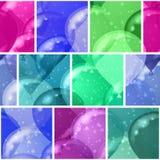 Balloon background seamless Stock Image