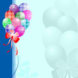 Balloon background Stock Photo