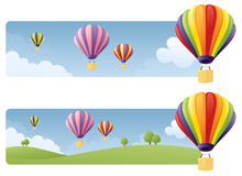 Balloon Banners Royalty Free Stock Image
