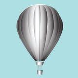 Balloon with a basket. Aeronautics. Vector illustration Royalty Free Stock Photography
